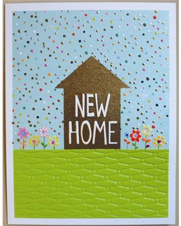 Paper Salad Jamboree New Home Card