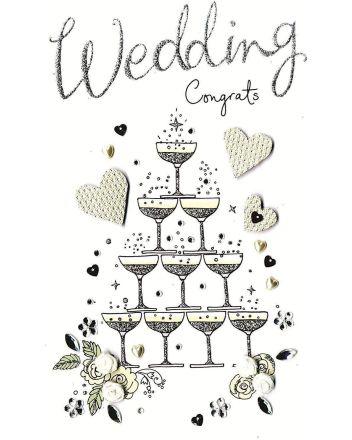 Second Nature Congratulations Wedding Greeting Card