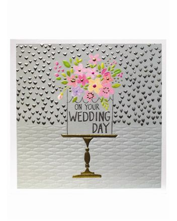 Paper Salad Jamboree Wedding Day Card