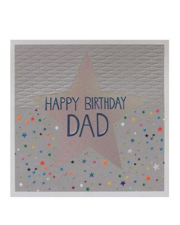 Paper Salad Jamboree Dad Star Birthday Card
