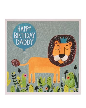 Paper Salad Jamboree Daddy Happy Birthday Card
