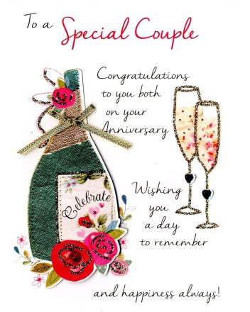 Second Nature Special Couple Anniversary Card