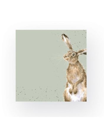 Wrendale Hare and Bee Napkins
