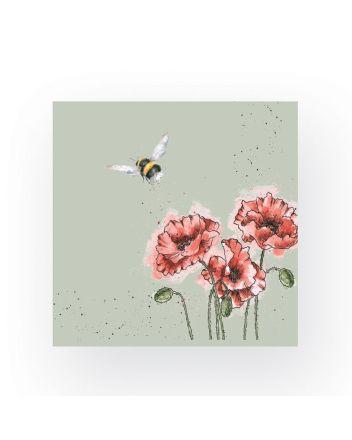 Wrendale Flight of the Bumblebee Napkins