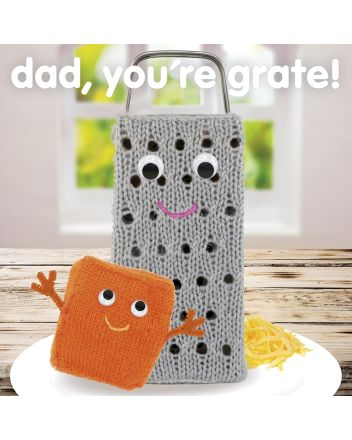 Knit and Purl Grate Dad Fathers Day Card