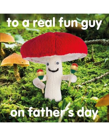 Knit and Purl Real Fun Guy Fathers Day Card