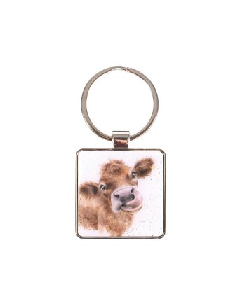 The Country Set - Cow Keyring