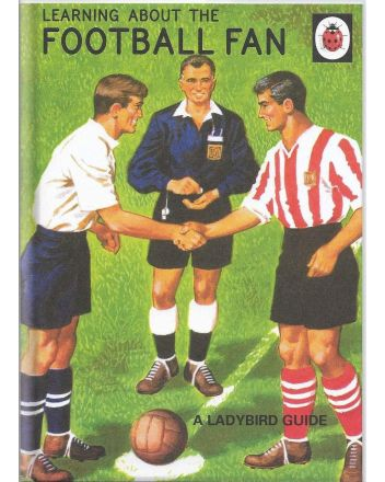 Ladybird Guide to the Football Fan Greetings Card