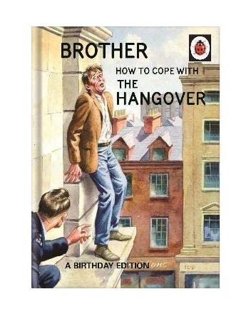 Ladybird Guide to Hangovers Brother Birthday Card