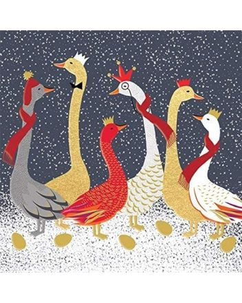 Sara Miller Geese Boxed Christmas Cards