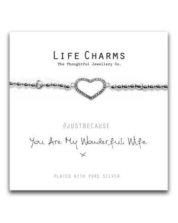 Life Charms - Wonderful Wife Bracelet