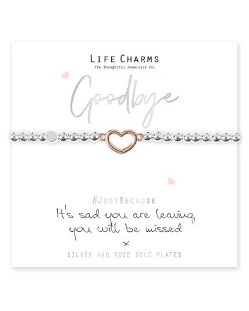 Life Charms - Sad You Are Leaving Bracelet