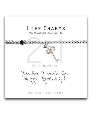 Life Charms - 21st Birthday Bracelet