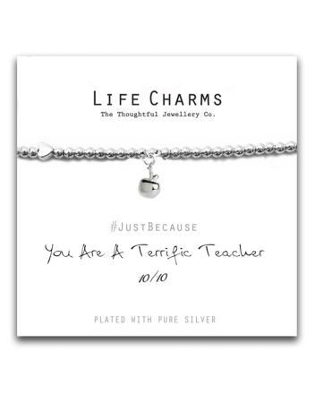 Life Charms - Terrific Teacher Bracelet