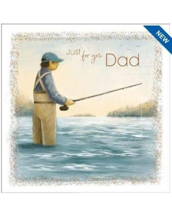 Nigel Quiney Kick Back Fishing Fathers Day Card