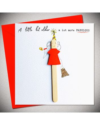Bexy Boo Lolly Lush Pops More Fabulous Birthday Card
