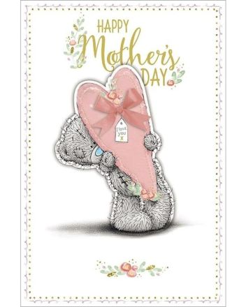 Me To You Giant Heart Mother's Day Card
