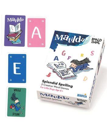 Matilda Splendid Spelling Card Game