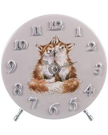 Wrendale Fox Mantel Clock