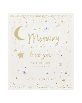 Paperlink Mummy To The Moon Mothers Day Card