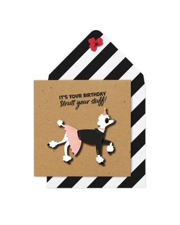 Tache Strut Your Stuff Birthday Card