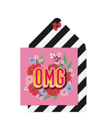 Tache OMG Birthday Card