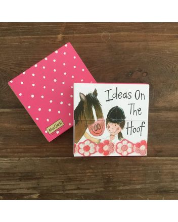 Alex Clark Horse and Rider Mini Notepad