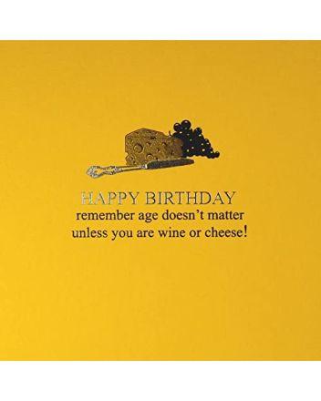 Five Dollar Shake Age Doesn't Matter Birthday Card