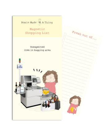 Rosie Made a Thing Unexpected Item Shopping Pad