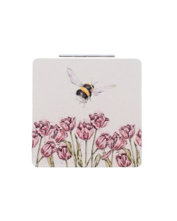 Wrendale Flight of the Bumblebee Compact Mirror