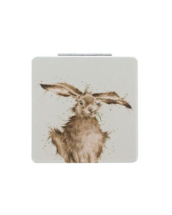 Wrendale Hare Brained Compact Mirror