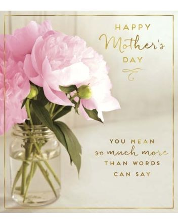 Pigment More Than Words Mother's Day Card