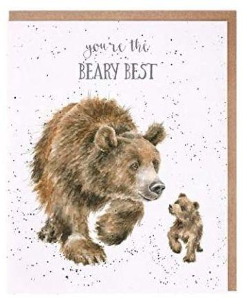 Wrendale Beary Best Greeting Card