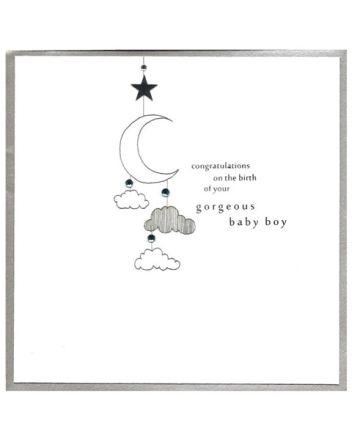 Cinnamon Aitch Piccadilly Baby Boy Card