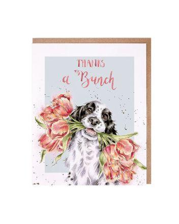 Wrendale Spaniel Dog Thank You Card