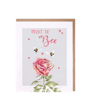 Wrendale Meant To Bee Anniversary Card
