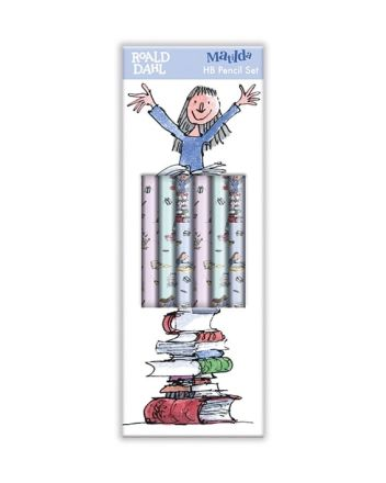Roald Dahl Matilda Pencil Set