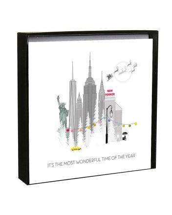 Five Dollar Shake Pop New York at Christmas Boxed Cards