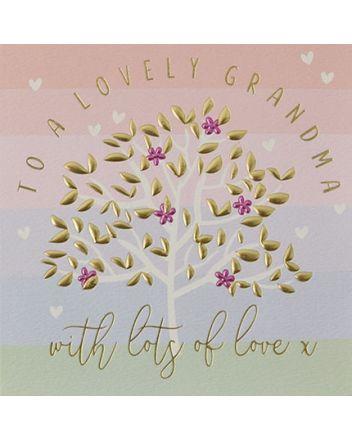 Quicksilver Lovely Grandma Greeting Card