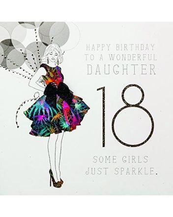 Five Dollar Shake Wonderful Daughter 18th Birthday Card