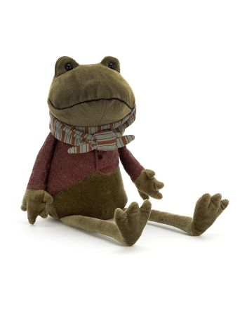 Jellycat Riverside Rambler Frog Medium Soft Toy