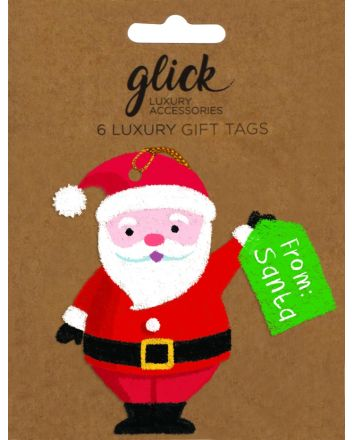 Glick 6 Luxury From Santa Christmas Gift Tags