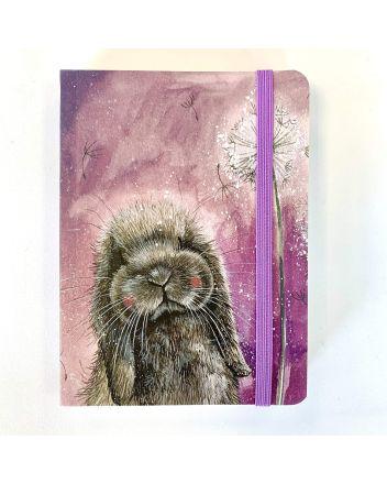 Alex Clark Misty Bunny A6 Notebook