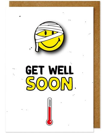 Tache Smiley Get Well Card