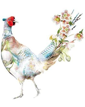 Lola Designs Pheasant Greeting Card