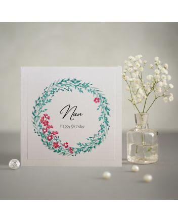 Mrs Lovesy Nan Birthday Card