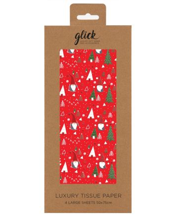 Glick Gonk The Gnome Christmas Tissue Paper