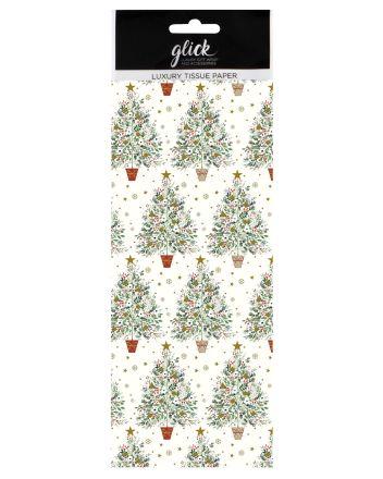 Luxury Spruce Christmas Tree Tissue Paper