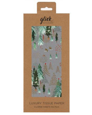 Glick Winter Wonderland Christmas Tissue Paper