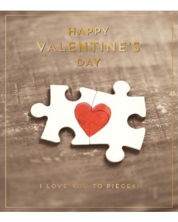 Pigment Love You To Pieces Valentine Card
